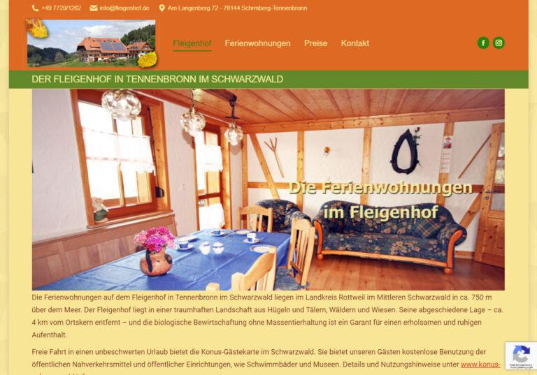 Ferienwohnung Fleigenhof
