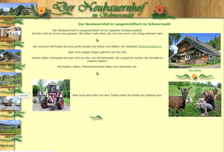 Ferienwohnung Neubauernhof