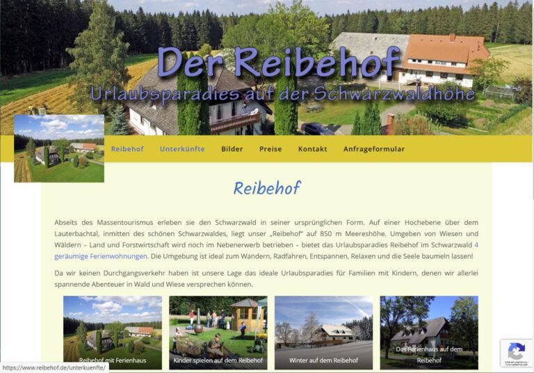 Ferienwohnung Reibehof