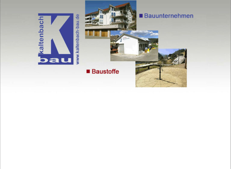 Kaltenbach Bau
