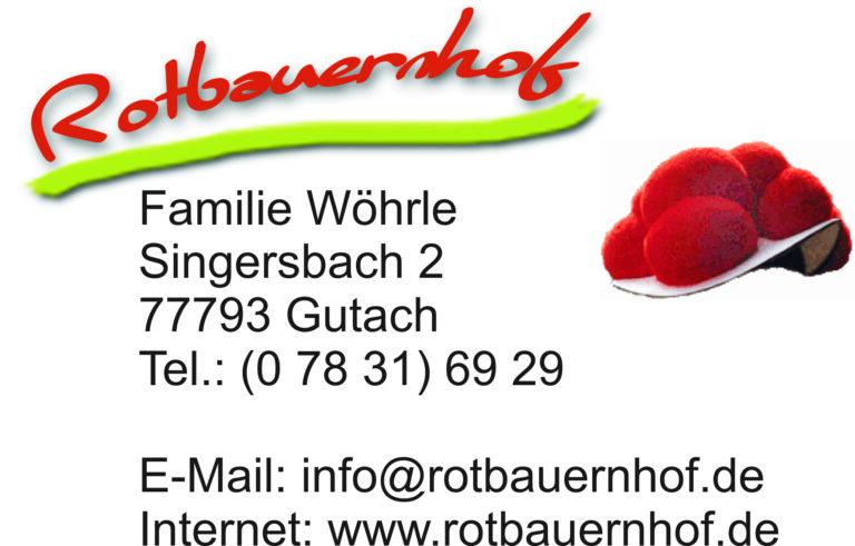 Visitenkarte Rotbauernhof